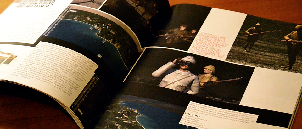 Desktop Magazine ran a feature on the interactive and graphic design of Gallipoli: The First Day.