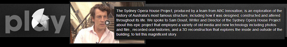 Watch an interview about the project on Sydney Opera House's Play Channel