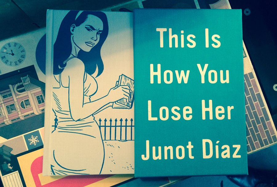 Junot Diaz's short stories illustrated by the great Jaime Hernandez.